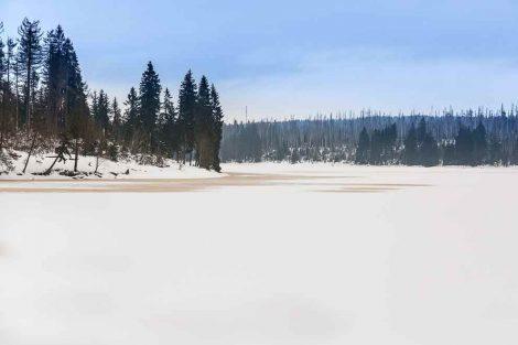 Winter Harz - Winter hiking Oderteich