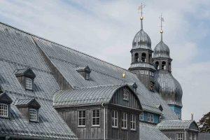 Clausthal Zellerfeld Blauwe Kerk