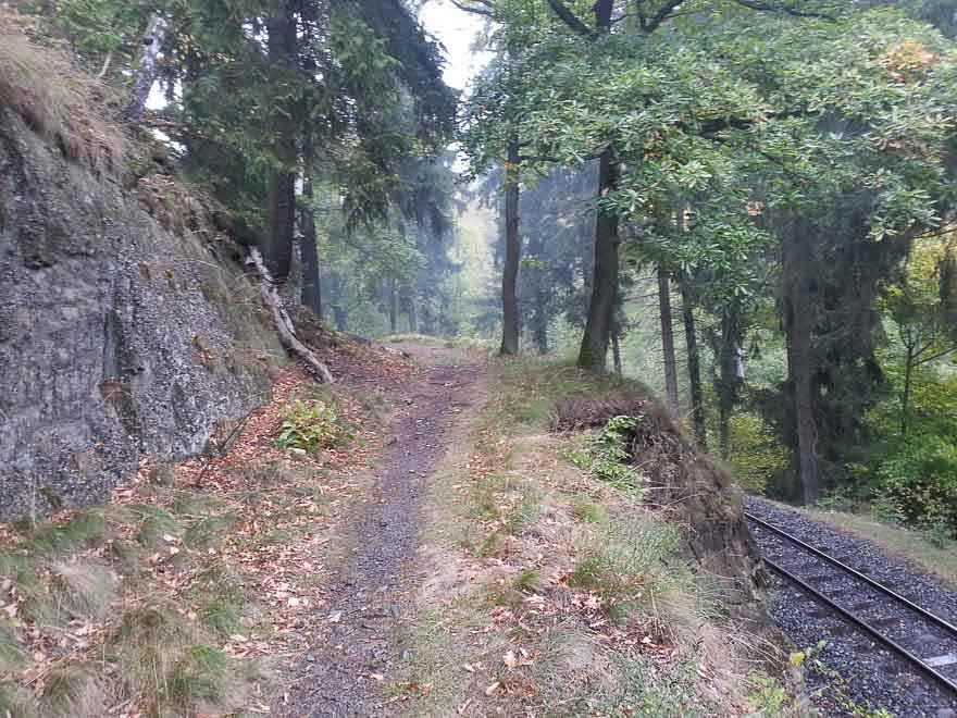 Harz karst hiking trail