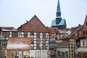 Old Town Osterode at the Harz Mountains
