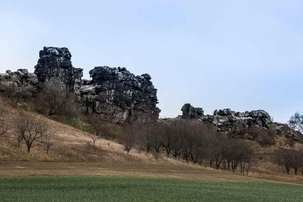 Harz duivelsmuur