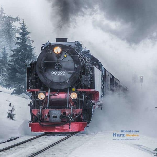 Brocken Railway in Winter
