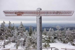 From Torfhaus you hike on the Brocken