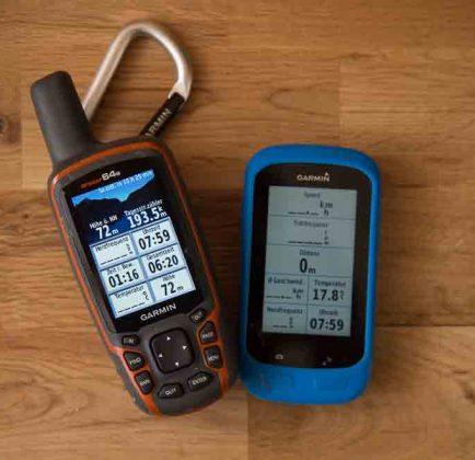 Wandernavigation - Garmin GPSMap 64s GPS Geräte zum Wandern und Fahrradfahren