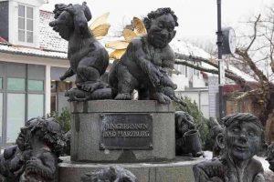 Bad Harzburg fontein van de jeugd