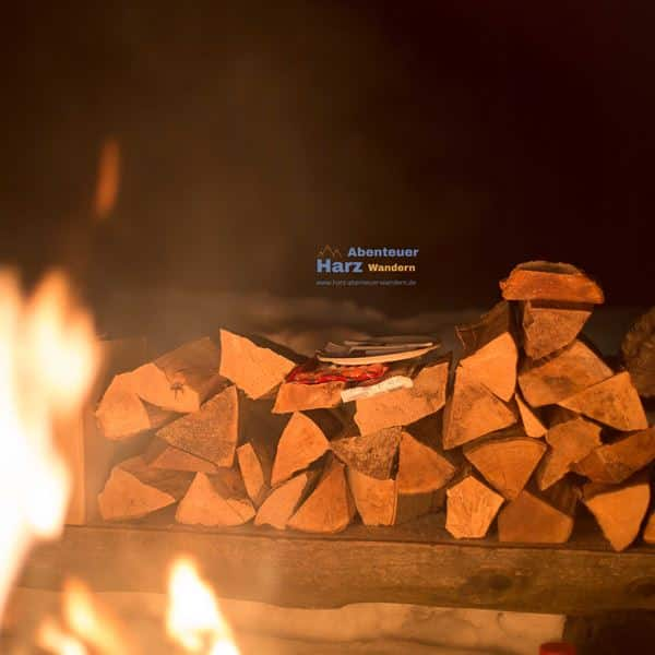 Harz Camping mit Lagerfeuer