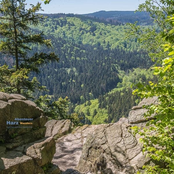 Harz Foto's - Parternosterklippen