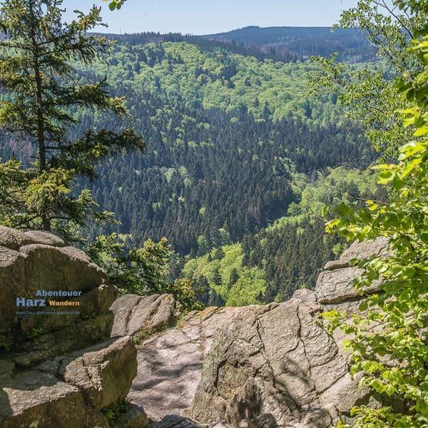 Wandern im Harz - Harz Paternosterklippen