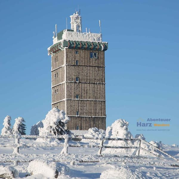 Harz Fotos - Brocken im Winter