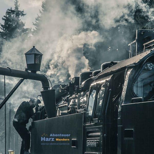 Harz Foto's - Drei Annen Hohne treinstation