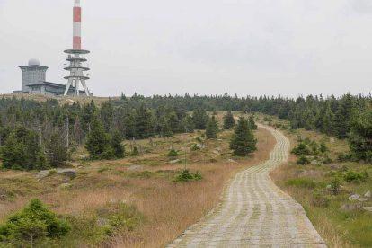 Der Brocken - Wetterstation auf dem Gipfel