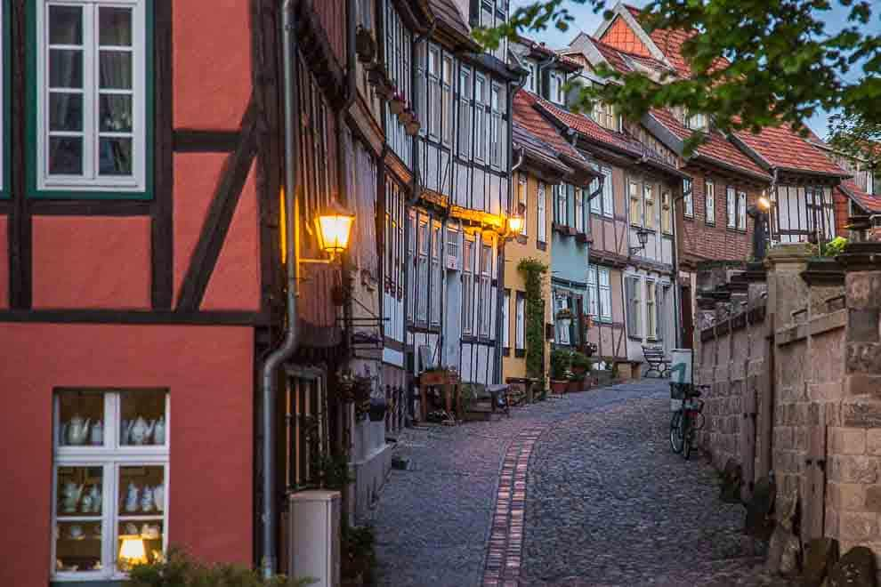 Castles in the Harz Mountains - Quedlinburg Castle