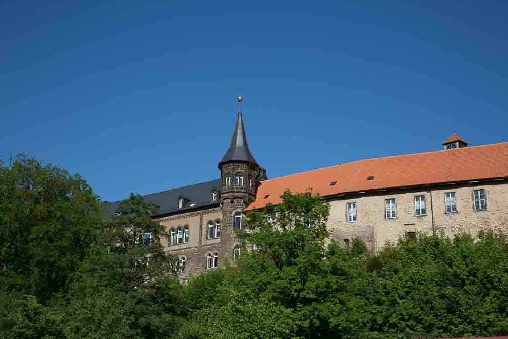 Churches and monasteries in the Harz Mountains - Monastery Ilsenburg